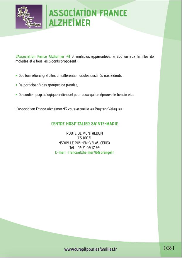 C35 association france alzheimer